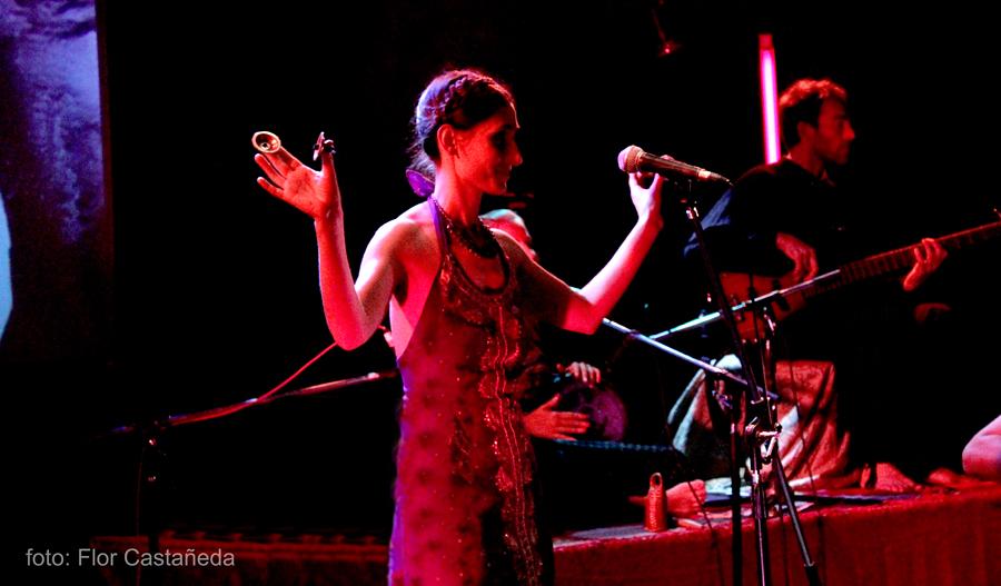 Presentación de Trance Ancestral en Roxy Live - Octubre 2010